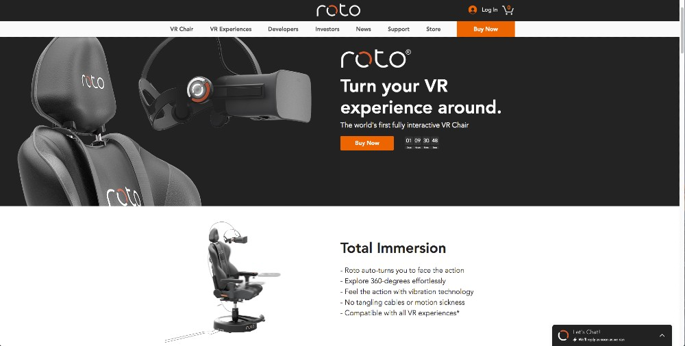 roto vr chair