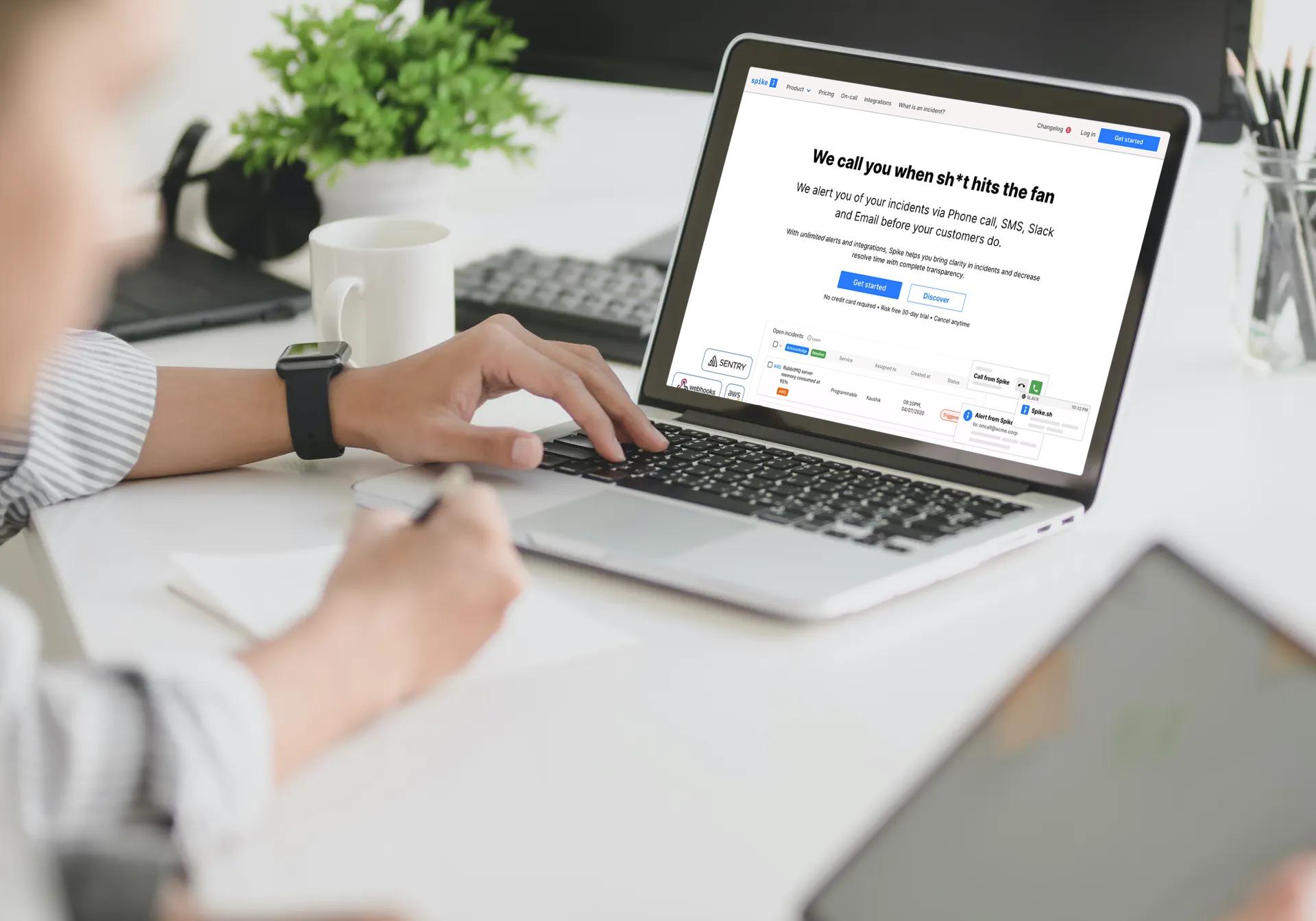 spike home page