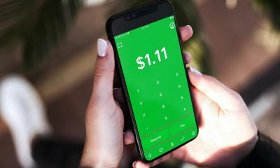 CashApp open on phone one of payment apps susceptible to fraud.