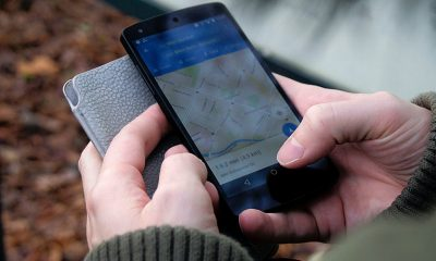 Google Maps releases a Driving Mode, held in hand.