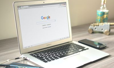 Google search bar open to communication with businesses.