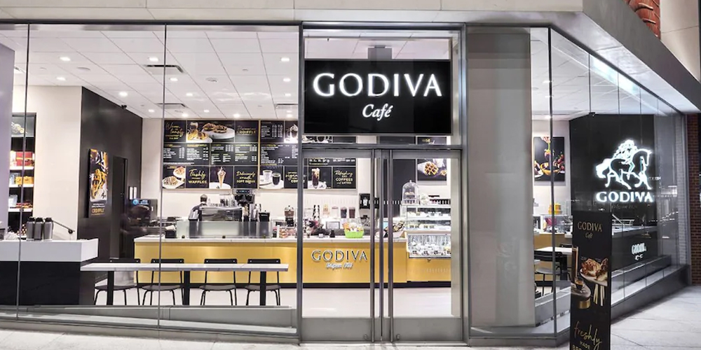 Picture of Godiva Cafe storefront, closing at the end of March.