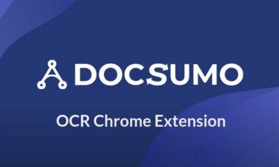 Logo for Docsumo, a transcribing Google Chrome extension