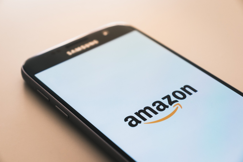 Samsung photo with amazon app loading page.
